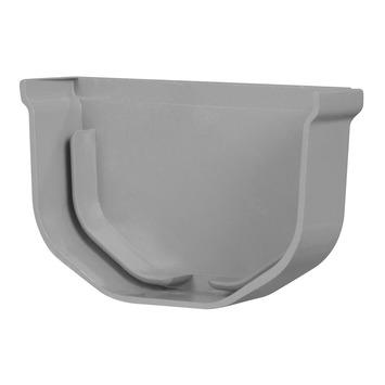 Martens minigoot eindstuk 65 mm grijs