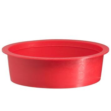 Martens speciedeksel 125 mm rood