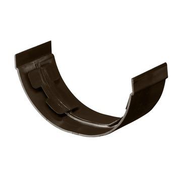 Martens mastgoot verbindingsstuk 100 mm bruin