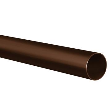 Martens PVC regenpijp bruin Ø80 mm lengte 2 meter