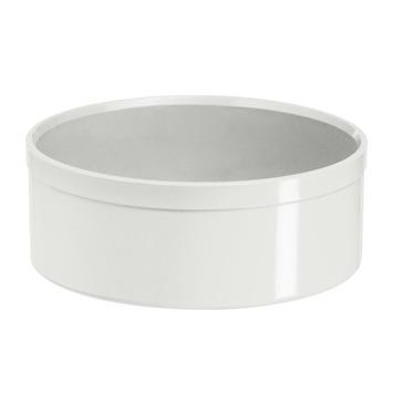 Martens PVC eindkap 32 mm wit
