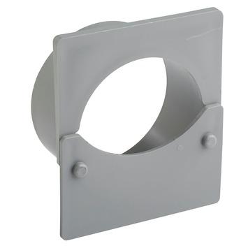 Martens eindplaat + uitloop 110 mm voor gootdrain