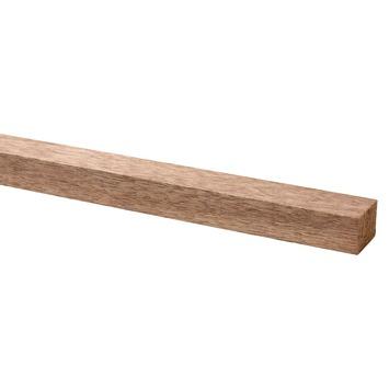 Bouwhout hardhout geschaafd 20x28 mm lengte 210 cm