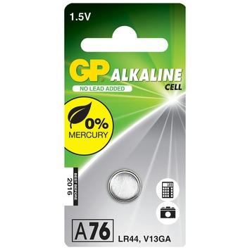 GP alkaline knoopcel batterij A76
