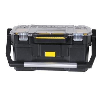 Stanley gereedschapskoffer met afneembare assortimentsdoos 25x56x33 cm