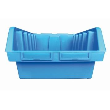 Erro stapelbak maat 5 ca. 19x33x52 cm blauw