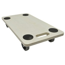 Handson meubeltransporter multiplex 56x30 cm met zachte wielen en anti-slip (max. 200 kg)