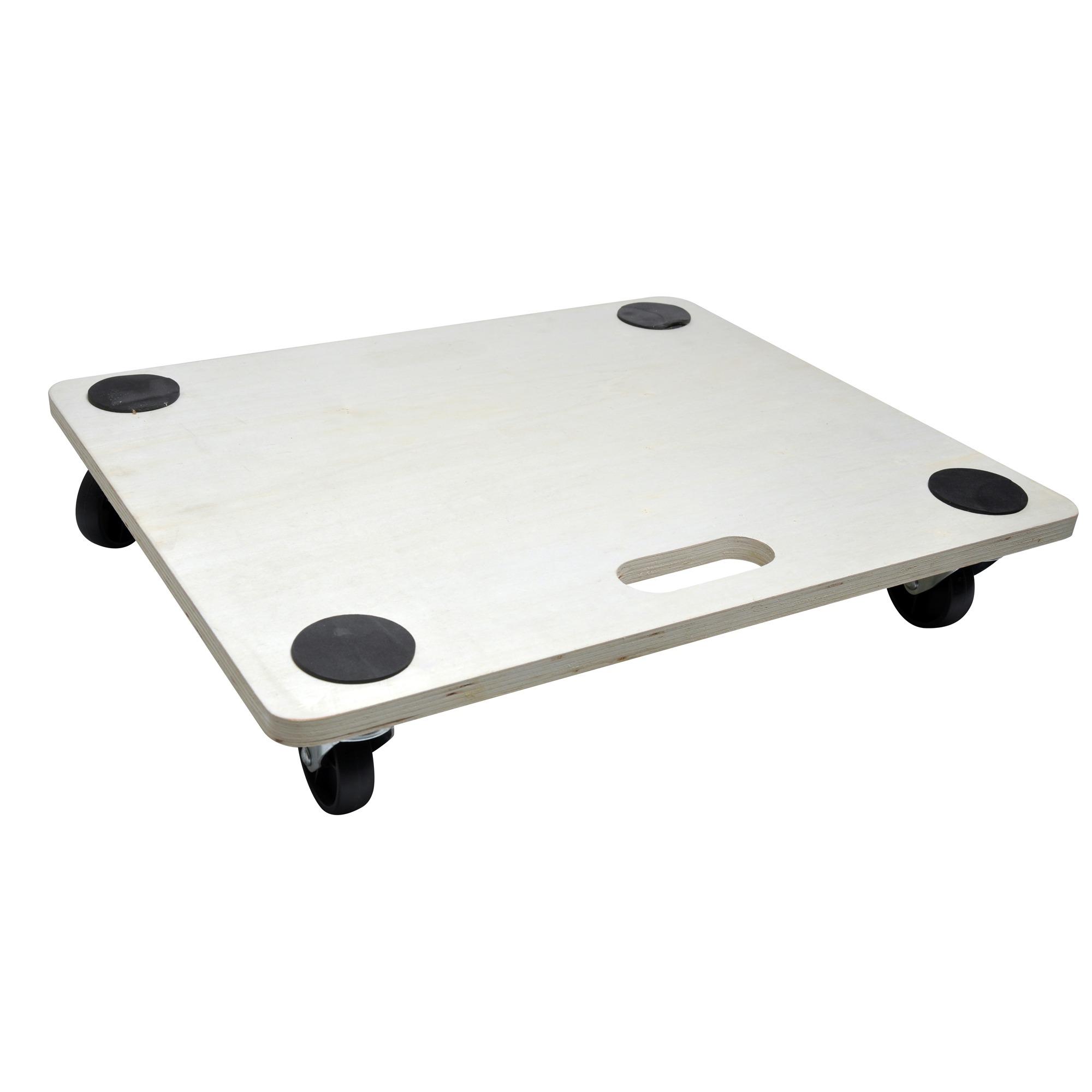 Handson meubeltransporter multiplex 59×49 cm met harde wielen en anti-slip (max. 200 kg)