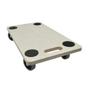 Handson meubeltransporter multiplex 56x30 cm met zachte wielen en anti-slip (max. 300 kg)