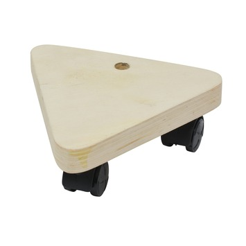 Handson meubeltransporter multiplex driehoek 13x13x13 cm max. 50 kg