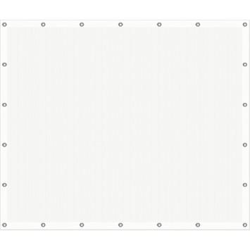 Cubic windscherm 150 x 180 cm wit