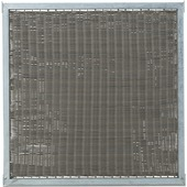 Cubic scherm wicker met frame 90x90 cm