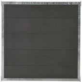 Cubic scherm HKC met frame zwart 90x90 cm