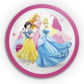 Philips Disney wand- en plafondlamp Princess