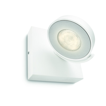 Philips wandspot Clockwork wit - Incl 1X LED 4W dimbaar