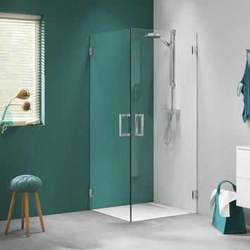 Get Wet Swingdeur voor Hoekinstap I AM 200x90 cm RVS