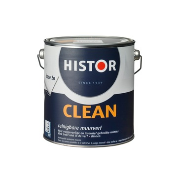 Histor Perfect Clean muurverf reinigbaar zijdeglans zonlicht 2,5 l