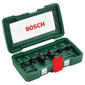 Bosch houtfrezenset HM 6 mm (6-delig)