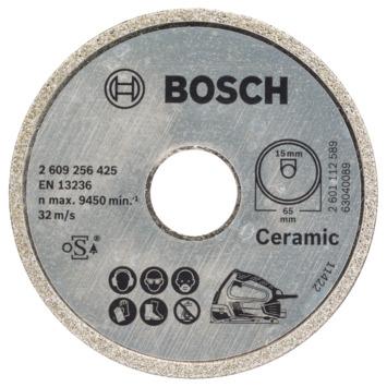 Bosch diamantzaagblad 65x15 mm voor Bosch PKS 16