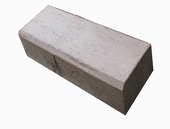 Biels beton bruin/zwart 75x20x12 cm