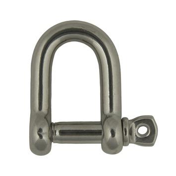Harpsluiting rond met schroefpen 4mm