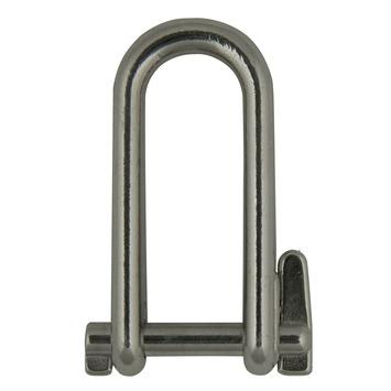 Harpsluiting lang afgerond met borgpen rond 6mm