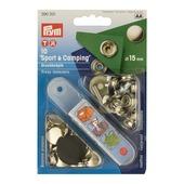 Drukknopen 15mm voor stof 10 stuks