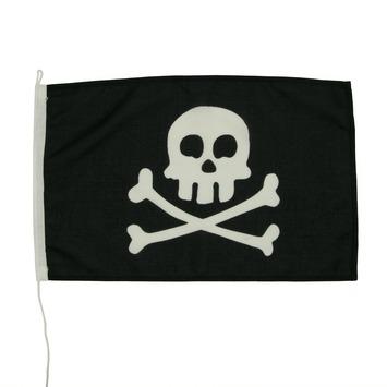 Vlag Piraat 40x60cm