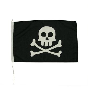 Vlag Piraat 30x45cm