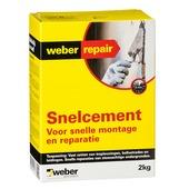 Weber SG snelcement 2 kg