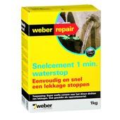 Weber SG reparatiemortel 1 kg waterstop
