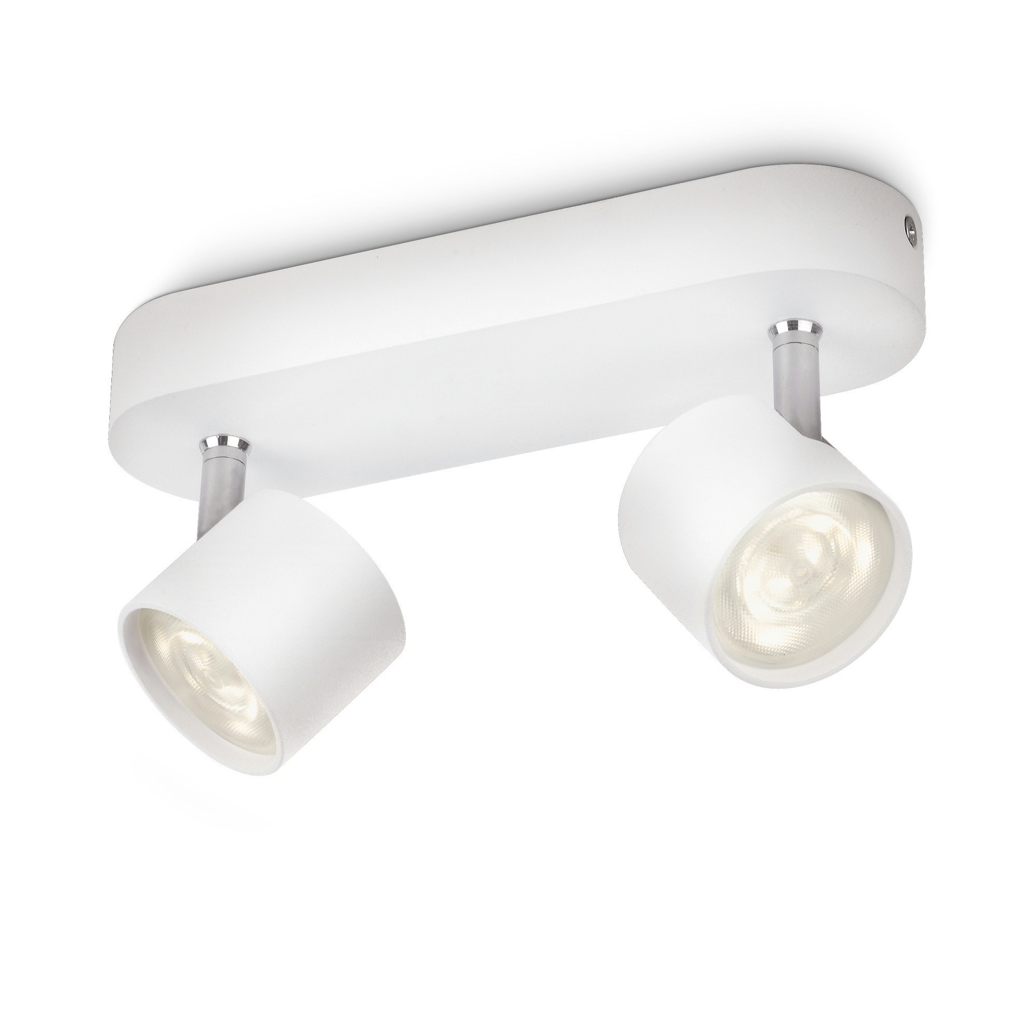 Philips myliving star spotlamp safety extra low 2 x 4 w wit