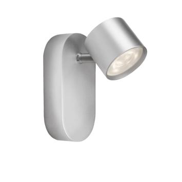 Philips wandspot Star aluminium - Incl 1X LED 3W