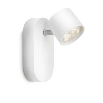 Philips wandspot Star wit - Incl 1X LED 4.5W