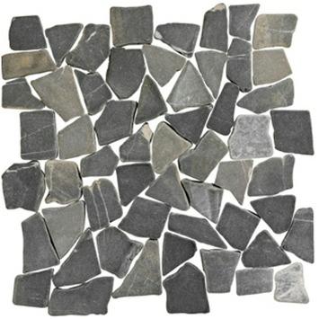 Natura Stone Mat Antraciet 30x30 cm