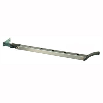 AXA raamuitzetter Elite grijs 30 cm buitendraaiend