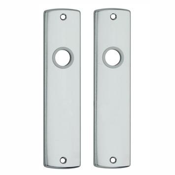 AXA langschild blind binnendeur kruk/kruk aluminium