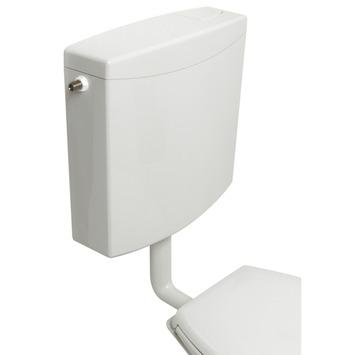Plieger Weser stortbak laaghangend dual flush 3-6/9L
