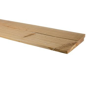 Rabatdeel Zweeds Douglas ca. 2,7x19 cm, lengte 240 cm