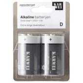 KARWEI monocel batterij D (2 stuks)