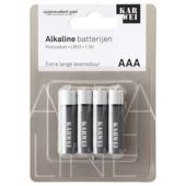 KARWEI potloodcel batterij AAA (4 stuks)