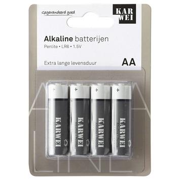 KARWEI Penlite Batterij AA 4 Stuks