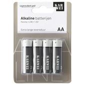 KARWEI penlite batterij AA (4 stuks)