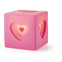 KARWEI tafellamp Happy hart roze