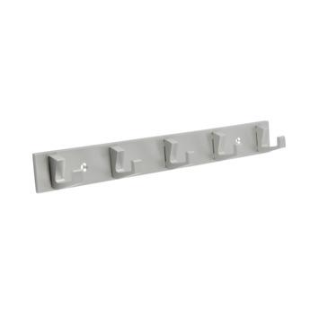 Kapstok Kristel 5 haaks aluminium 360mm