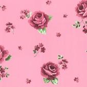vliesbehang roos roze (dessin 33-150)