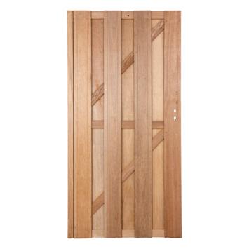 Poort hardhout recht ca. 90x180 cm