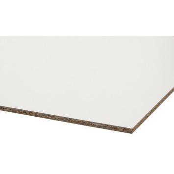 Storemax deurplaat wit/wit 255x101,5 cm dikte 8 mm