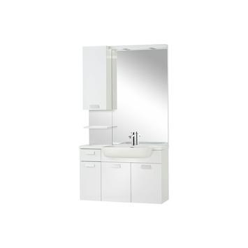 Differnz Fabulous badkamermeubel 100 cm hoogglans wit