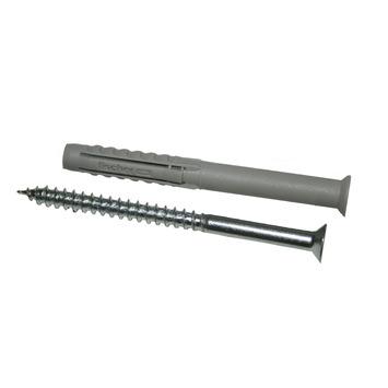 Fischer SXR 6x60 Z deeldraad schroef en constructieplug met kraag 8 stuks